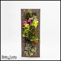 Living Wall Kit with Tall Reclaimed Ghostwood Frame