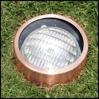 Low Voltage In-Ground Well Lights