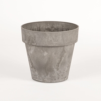 14in. Lunar Round Flower Pot - Available in. 3 Colors