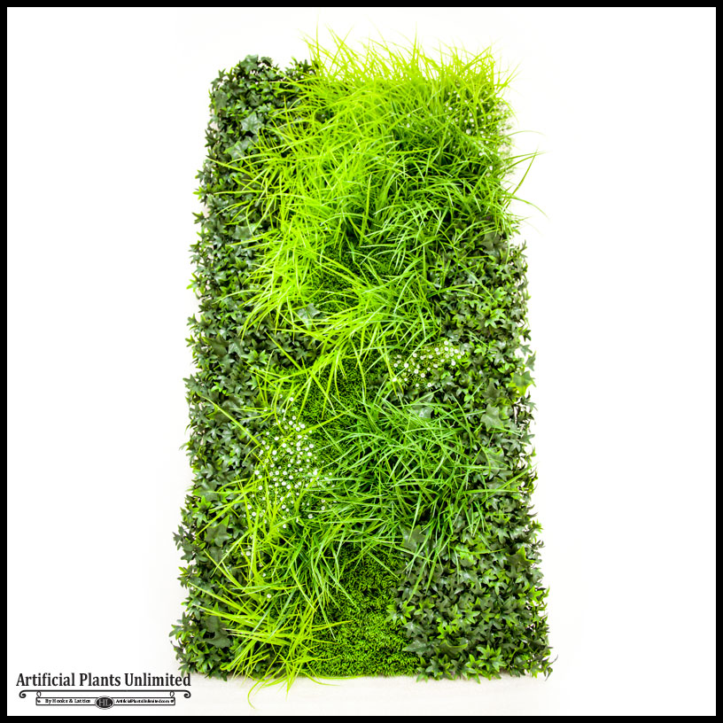 lush artificial grasses faux green wall|artificial plants unlimited