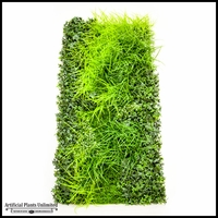 Lush Indoor Artificial Living Wall 48in.L x 24in.H