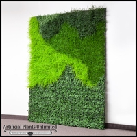 Lush Indoor Artificial Living Wall 72in.L x 60in.H