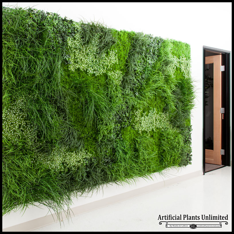 Artificial Green Wall Houseplant Design Artificial Plants