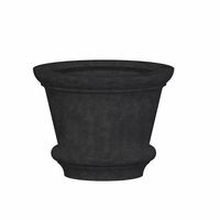 Lynx Round Cast Stone Planter 42in.D x 32in.H