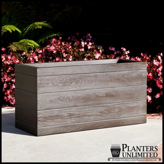 Madera Fiberglass Commercial Planter 48in.L x 24in.W x 18in.H