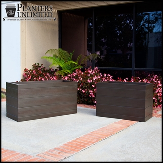 Madera Fiberglass Commercial Planter 72in.L x 18in.W x 18in.H