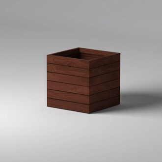 Madera Square Commercial Planters