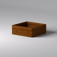 Madera Square Planter 48in.L x 48in.W x 18in.H