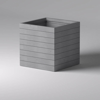 Madera Square Planter 48in.L x 48in.W x 48in.H