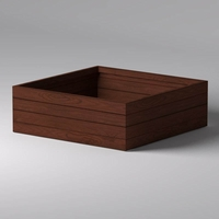 Madera Square Planter 72in.L x 72in.W x 24in.H