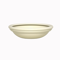 Malibu Low Bowl Fiberglass Planter 36in.Dia x 10in.H