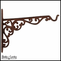 Rustic Cast Iron Hanging Basket Hook
