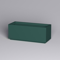 Marek Fiberglass Rectangle Planter 60in.L x 24in.W x 24in.H