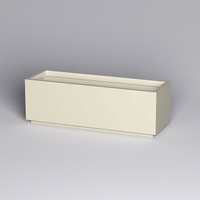 Marek Fiberglass Rectangle Planter 72in.L x 24in.W x 24in.H