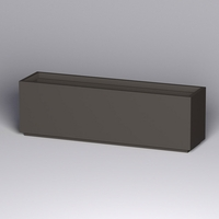 Marek Fiberglass Rectangle Planter 96in.L x 24in.W x 30in.H