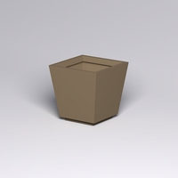 Marek Fiberglass Tapered Square Planter 30in.L x 30in.W x 30in.H
