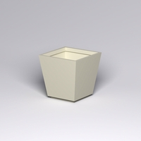 Marek Fiberglass Tapered Square Planter 36in.L x 36in.W x 36in.H