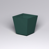 Marek Fiberglass Tapered Square Planter 42in.L x 42in.W x 42in.H