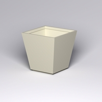 Marek Fiberglass Tapered Square Planter 48in.L x 48in.W x 48in.H