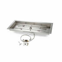 Match Light Rectangular H Burner Insert