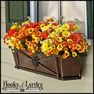 Medallion Decora Window Boxes