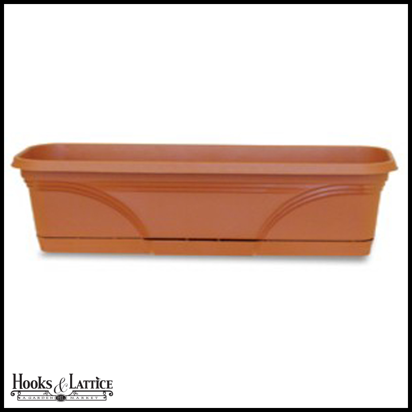 Medallion Plastic Window Boxes Plastic Window Box Liners