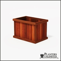 Mendocino Redwood Commercial Planter 36in.L x 24in.W x 24in.H