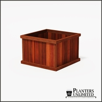Mendocino Redwood Commercial Planter 36in.L x 36in.W x 24in.H