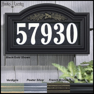 Mighty Oak Illuminated Address Sign
