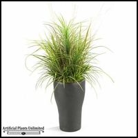 40in. Mixed Grasses in Tall Resin Planter