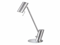 Moden Desk Task Light - Brushed Steel