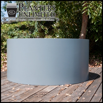 Modern Round Commercial Planter 48in.Dia. x 24in.H