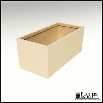 Modern Tapered Fiberglass Commercial Planter 60in.L x 30in.W x 24in.H