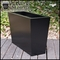 Modern Tapered Fiberglass Commercial Planter 72in.L x 18in.W x 18in.H