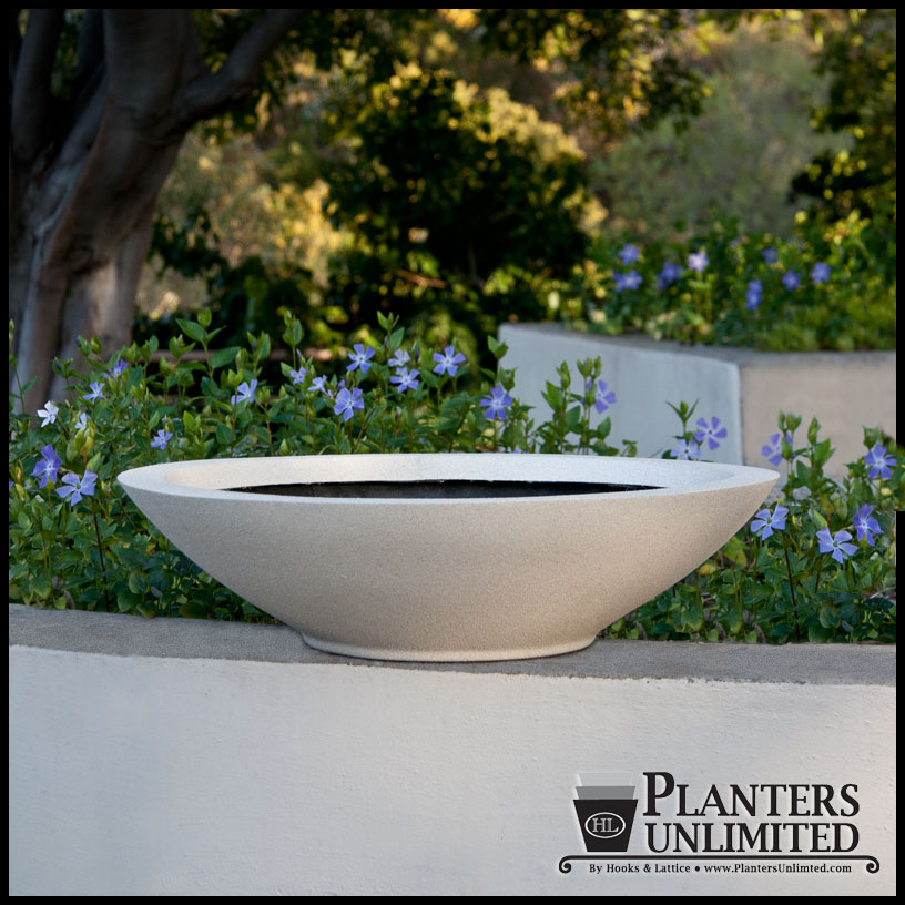 Modern Low Bowl Planters Click To Enlarge