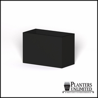 Modern Rectangle Cast Stone Planter - 36in.L x 18in.W x 24in.H