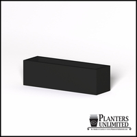 Modern Rectangle Cast Stone Planter - 48in.L x 14in.W x 14in.H