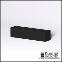 Modern Rectangle Cast Stone Planter - 60in.L x 14in.W x 14in.H