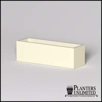 Modern Rectangle Cast Stone Planter - 60in.L x 18in.W x 18in.H