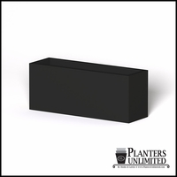 Modern Rectangle Cast Stone Planter - 60in.L x 18in.W x 24in.H