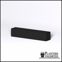 Modern Rectangle Cast Stone Planter - 72in.L x 14in.W x 14in.H
