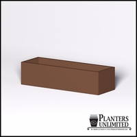 Modern Rectangle Cast Stone Planter - 72in.L x 24in.W x 18in.H