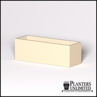 Modern Rectangle Cast Stone Planter - 72in.L x 24in.W x 24in.H