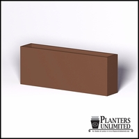 Modern Rectangle Cast Stone Planter - 96in.L x 18in.W x 36in.H