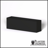 Modern Rectangle Cast Stone Planter - 96in.L x 24in.W x 30in.H