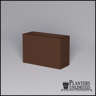 Modern Rectangle Cast Stone Planters