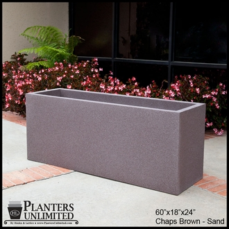 Modern Rectangle Planter 48in.L x 24in.W x 24in.H