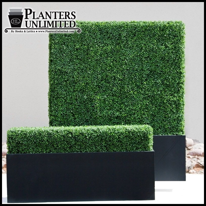 Large Outdoor PlantersRectangular Long Planters Shopping Mall