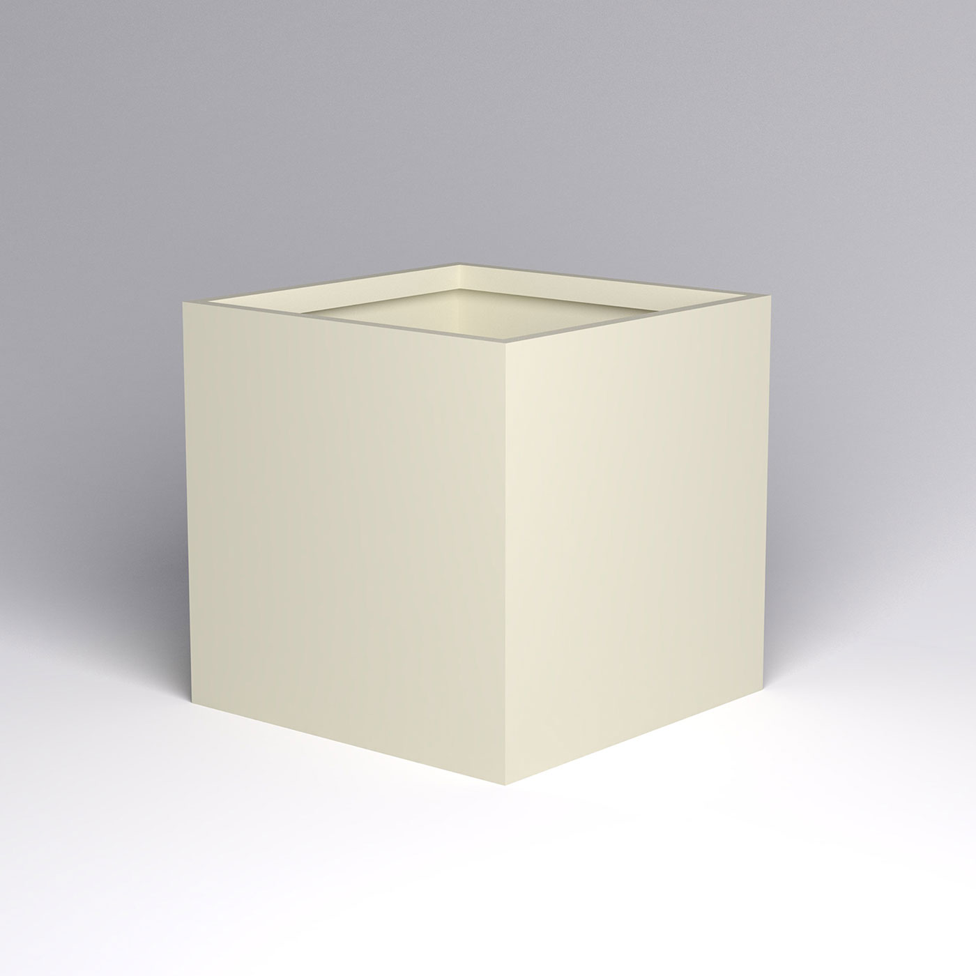 Large Modern Square Planter 48 X 48