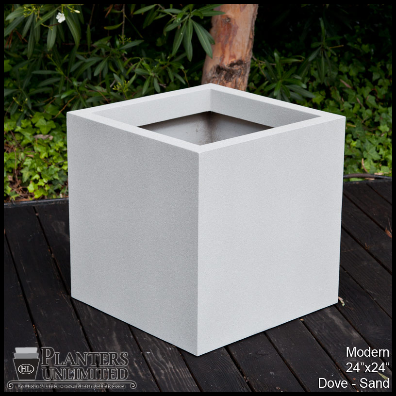 Modern Planters Modern Planter Boxes Planters Unlimited